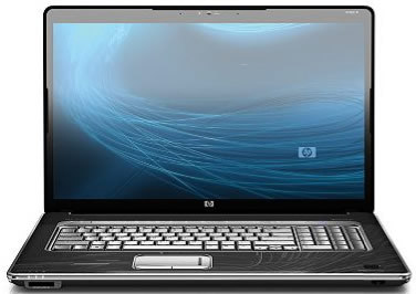hp hdx 18t premium series laptop with full high definition display