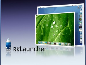 RK Launcher - Freeware Dock For Windows Similar to Mac OS X