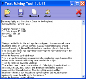 Text Mining Tool - Extract Text from PDF, RTF, DOC, HTML and chm Files