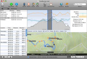 TrailRunner - Workout Route Planning Software
