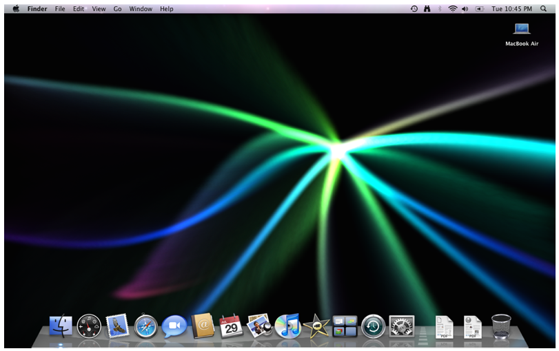 dynamic desktop wallpaper.  any screen saver of your choice running on the desktop as a wallpaper.