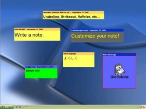 Create Desktop Sticky Notes With GloboNote