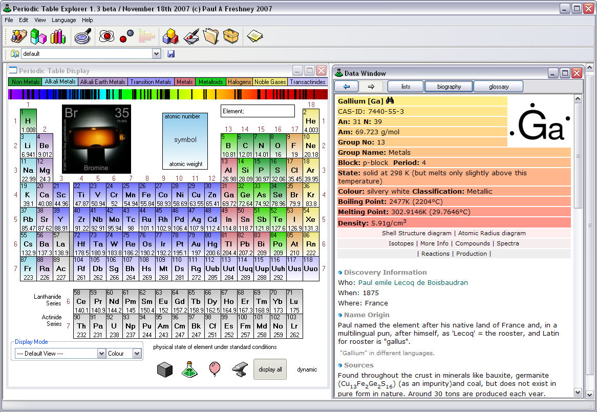 Explore and learn about the elements with periodic table explorer explore and learn about the elements with periodic table explorer gamestrikefo Gallery
