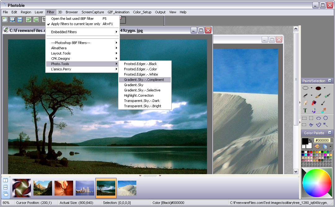 photobie free image editing software with advanced