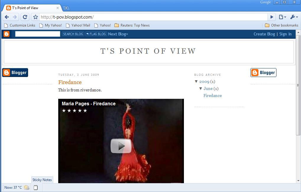 4 Column Blogspot Template