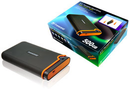 transcend 500 gb store jet mobile