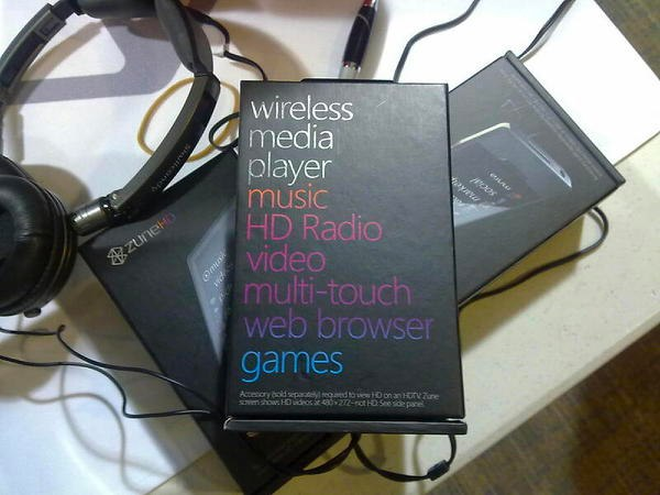 Microsoft Zune HD Box Leaked