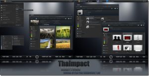 ThaImpact VS Theme For Windows 7