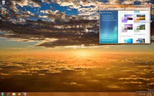 Sunset Beach Windows 7 Theme