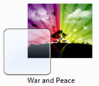 War And Peace Theme For Windows 7