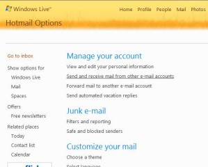 Windows Live Add Account