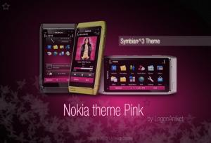 Nokia Theme Pink Image