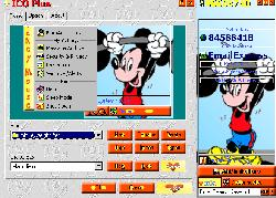 Mickey Weightlifter Picture