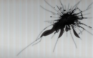 Cracked_LCD_Screen_Wallpaper Image