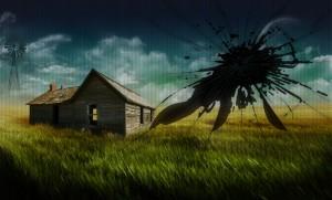 Broken Screen House Picture
