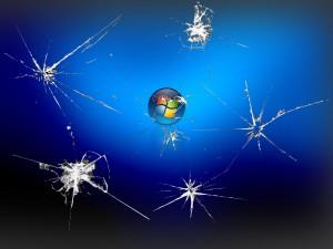 Broken Screen Wallpaper Image