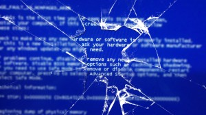 Cracked Screen Wallpaper Image