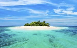 Island Ocean Wallpaper Picture
