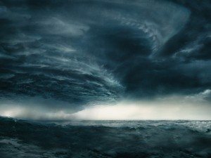 Ocean Storm Wallpaper Photo