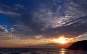 Sunset Sky Ocean Wallpapers Picture