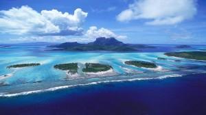 Tropical Islands Blue Ocean Wallpapers Photo