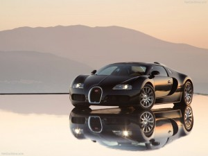 Picture of Black Bugatti