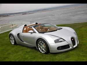 Bugatti Font Side Picture