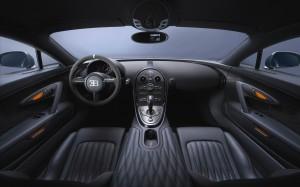 Inside of Bugatti