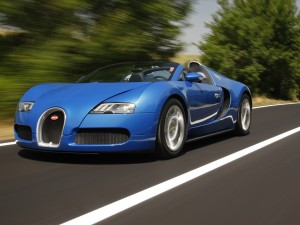Picture of Bugatti Running