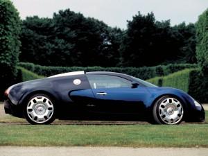 Pictures of Bugattis