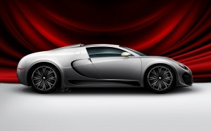 Side Look Bugatti Photo