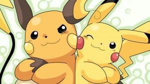 Pokemon Pika and Rai Wallpaper Photo