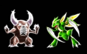 Pokemon Pinser and Scyther Image