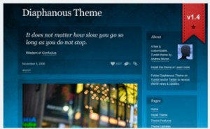 Diaphanous Theme v1.4 Photo