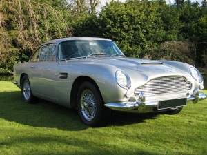 Aston Martin DB5 Front Side Image