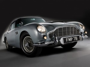 Aston Martin DB5 Wallpaper Image