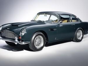 Image of Beautiful Blue Aston Martin DB5