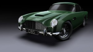 Green Aston Martin DB5 Picture