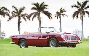 Red Aston Martin DB5 Picture