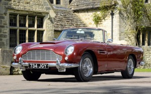 Picture of Red Aston Martin DB5