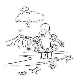 Curious George Funny Coloring Pages Image