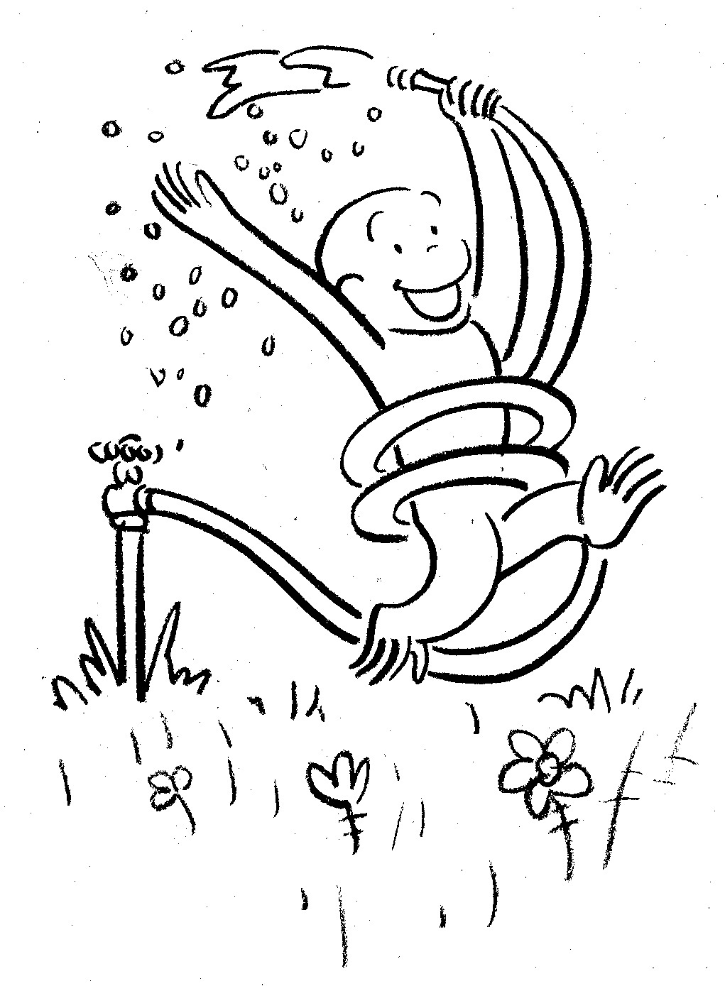 curious george christmas coloring pages - photo#13