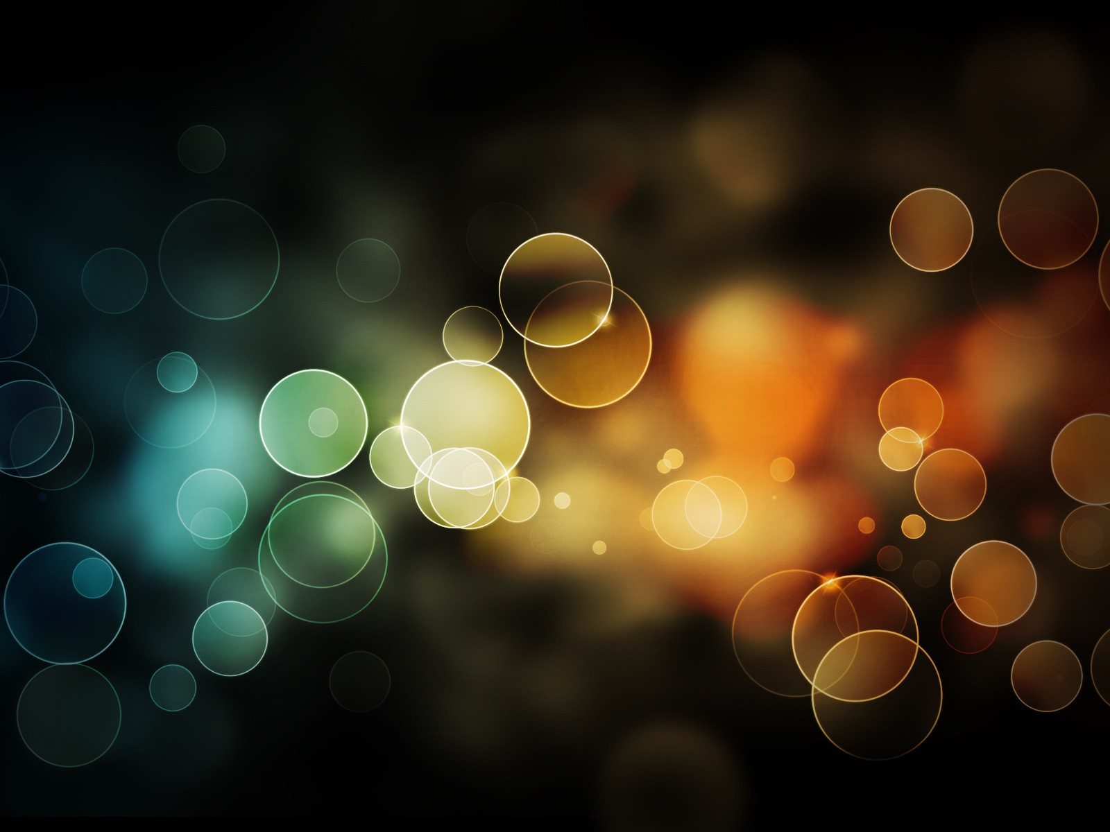 colorful bubbles desktop background picture