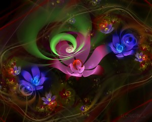 Colorful Flowers Desktop Background Image