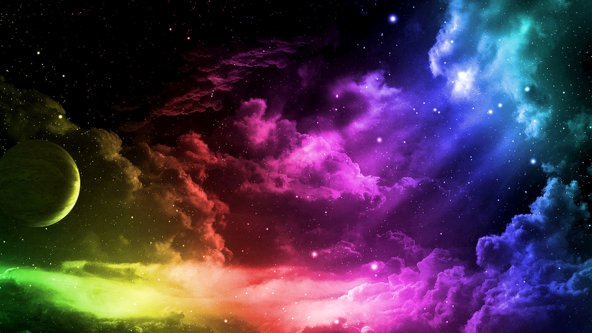 Get free colorful backgrounds for your desktop and give it a more