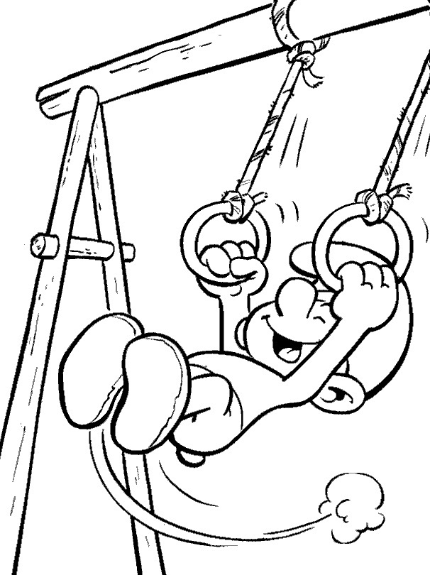 Free Smurf Coloring Pages For Kids