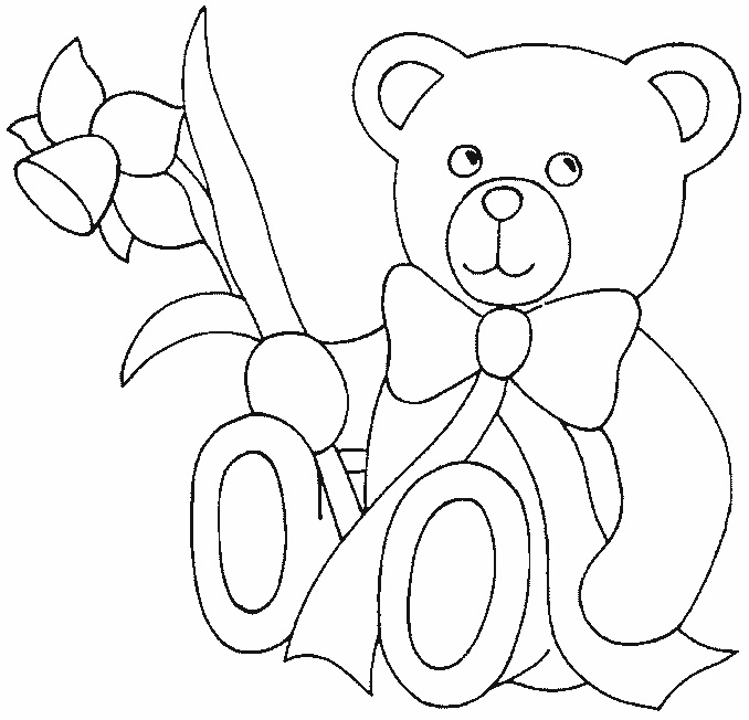 free printable teddy bear coloring pages  u2013 technosamrat