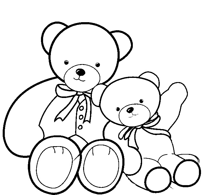 Free Printable Teddy Bear Coloring Pages – Technosamrat