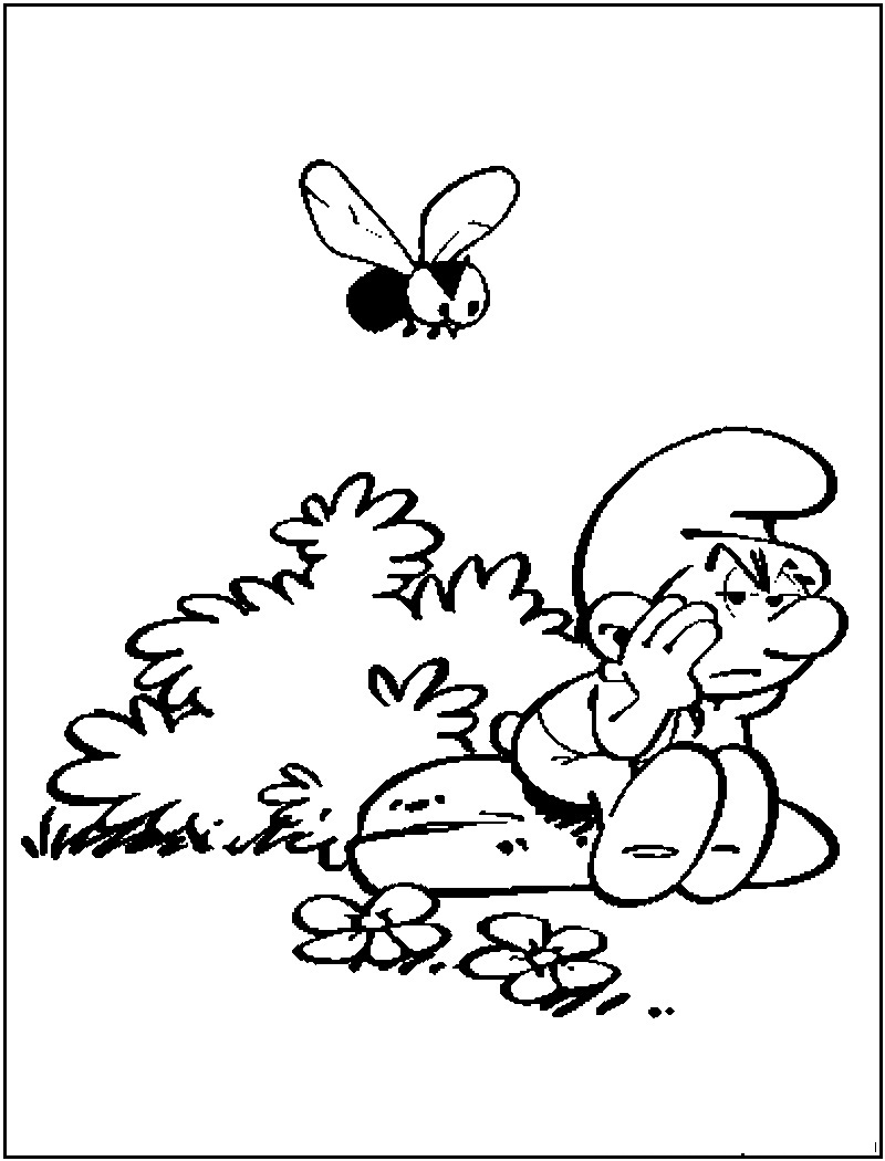 Coloring Pages The Smurfs Coloring Pages free smurf coloring pages for kids technosamrat thinking
