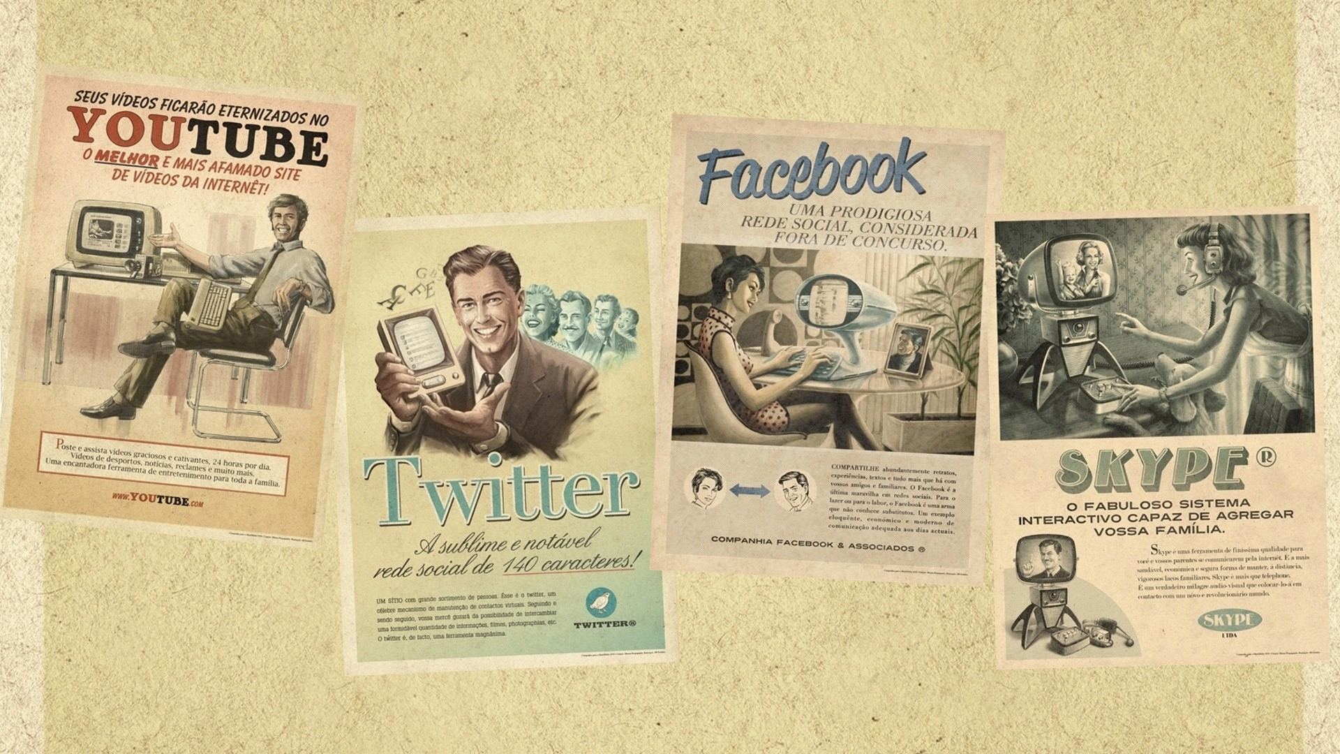 Backgrounds For Twitter Vintage 25+ Free Vintage Twitt...